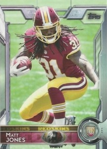 2015 Topps Football Variation RC Matt Jones