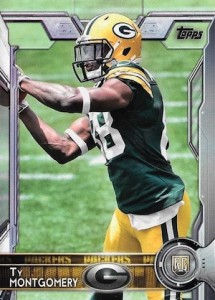 2015 Topps Football Variation RC Ty Montgomery