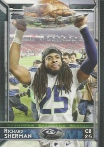 2015 Topps Football Variation Richard Sherman