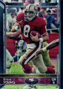 2015 Topps Football Variation Steve Young