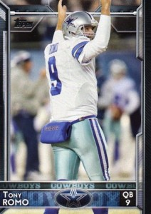 2015 Topps Football Variation Tony Romo