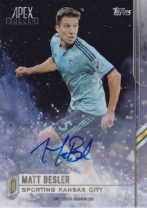 2015 Topps APEX MLS Major League Soccer Cards 21
