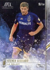 2015 Topps MLS Apex Base Steven Gerrard