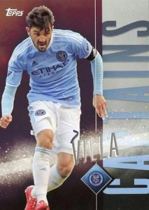 2015 Topps MLS Apex Captains David Villa