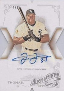 2015 Topps National Allen Ginter Die-Cut Autograph Frank Thomas