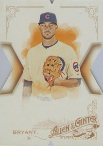 2015 Topps National Allen Ginter Die-Cut Kris Bryant