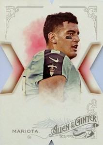 2015 Topps National Allen Ginter Die-Cut Marcus Mariota