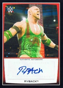 2015 Topps WWE Road to Wrestlemania Autograph Ryback