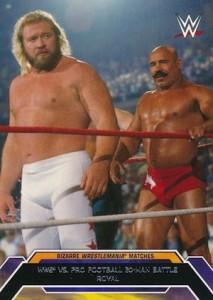 2015 Topps WWE Road to Wrestlemania Bizarre