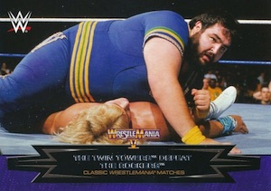 2015 Topps WWE Road to Wrestlemania Classic