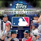 2016 Topps MLB Sticker Collection Baseball