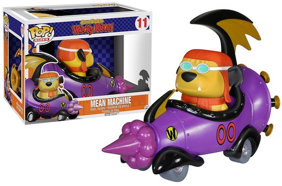 Funko Pop Rides Vinyl Toys Mean Machine Muttley