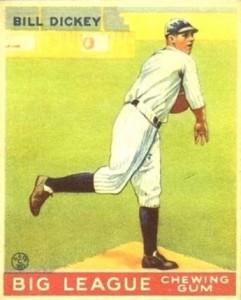 1933 Goudey Bill Dickey #19