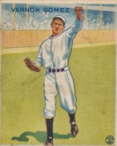 Top 10 Lefty Gomez Baseball Cards 6