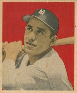 1949 Bowman Yogi Berra #60