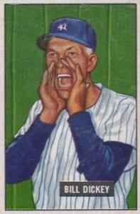 1951 Bowman Bill Dickey #290