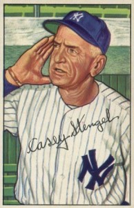 1952 Bowman Casey Stengel #217
