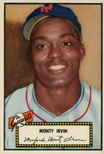 Top 10 Baseball Cards to Remember Monte Irvin 9
