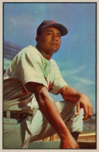 1953 Bowman Color Larry Doby #40