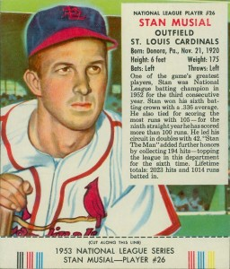Top 10 1953 Baseball Card Singles 1