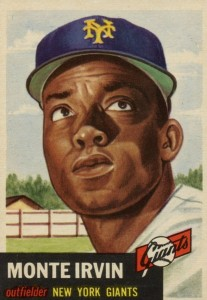 Top 10 Baseball Cards to Remember Monte Irvin 6