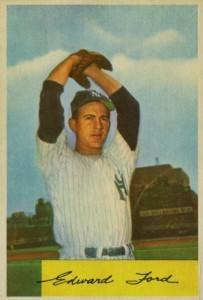 1954 Bowman Whitey Ford #177
