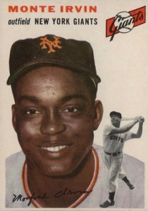 Top 10 Baseball Cards to Remember Monte Irvin 5