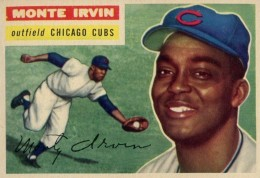 Top 10 Baseball Cards to Remember Monte Irvin 1
