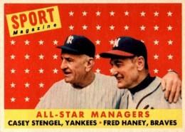 1958 Topps Casey Stengel #475