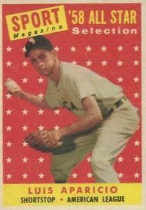 1958 Topps Luis Aparicio #483