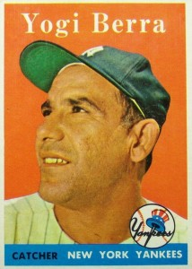 Celebrate the Life of Yogi Berra with His Top Baseball Cards 1