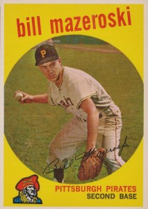 Top 10 Bill Mazeroski Baseball Cards 6