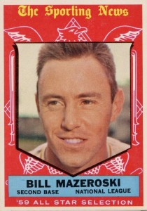 Top 10 Bill Mazeroski Baseball Cards 1