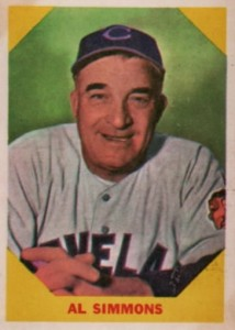 1960 Fleer Al Simmons #32