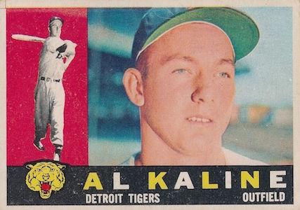 Top 10 Al Kaline Baseball Cards 9