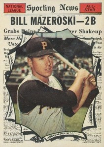 Top 10 Bill Mazeroski Baseball Cards 5