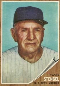 1962 Topps Casey Stengel #29