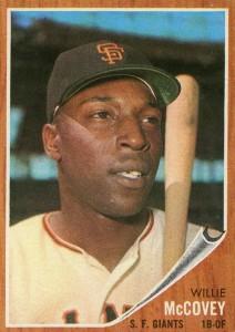 1962 Topps Willie McCovey #544