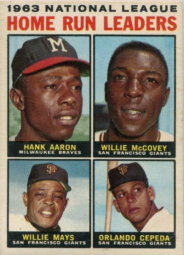 Top 10 Willie McCovey Cards 8