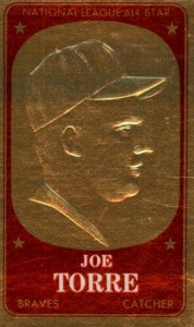 Top 10 Joe Torre Baseball Cards 1
