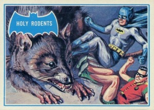1966 Batman Blue Bat 35B