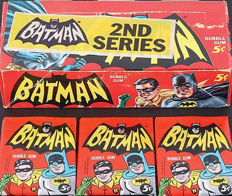 1966 Topps Batman box