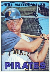 Top 10 Bill Mazeroski Baseball Cards 4