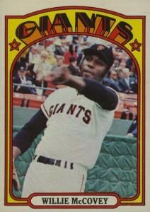 1972 Topps #280 Willie McCovey