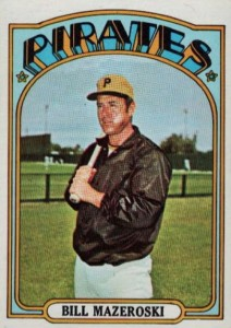 Top 10 Bill Mazeroski Baseball Cards 2