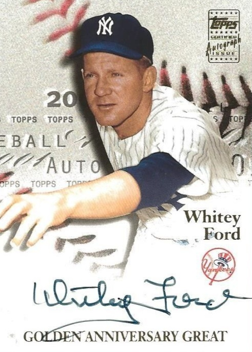 Top 10 Whitey Ford Baseball Cards 4