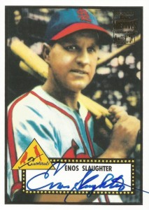 Top 10 Enos Slaughter Baseball Cards 4