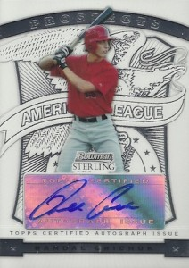 2009 Bowman Sterling Prospects Randal Grichuk Autograph