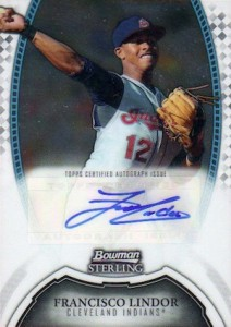 2011 Bowman Sterling Prospect Autographs Francisco Lindor