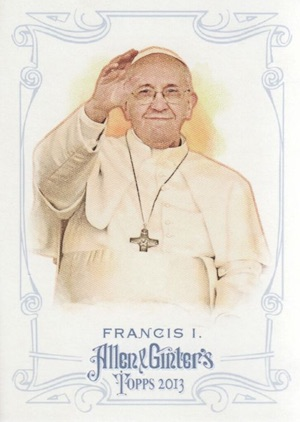 Philadelphia Phillies Giving Away Pope Francis Rookie Cards 3